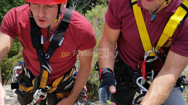 pompieri vigili del fuoco saf montagna