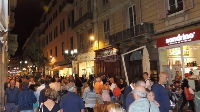 Sanremo gremita per la Grande Festa della Città