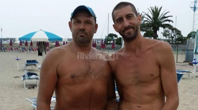 torneo di beach volley di Sanremo