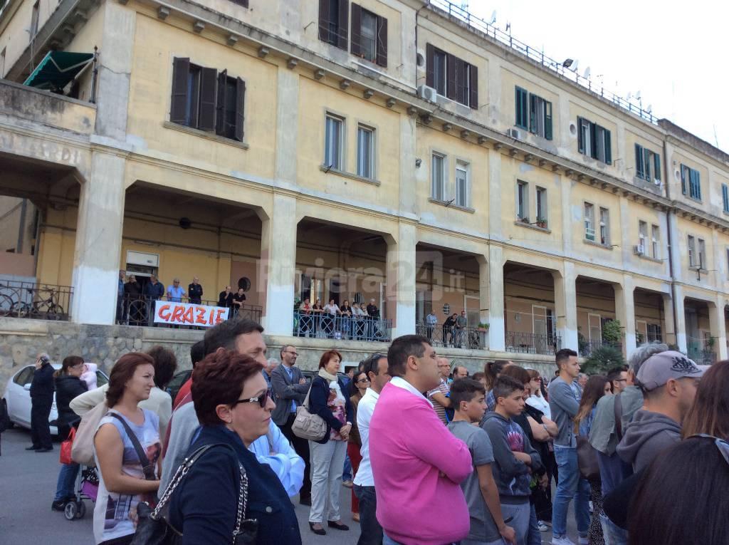 """Ventimiglia, inaugurata alle """"Gallardi"""" la piazzetta in ricordo di Suor Eligia"""
