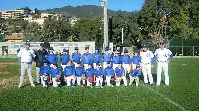 Baseball sanremo novembre 2015 slow pitch: open day
