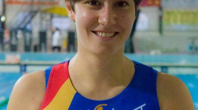 Cecilia Solaini, portiere della squadra A1 femminile rari nantes