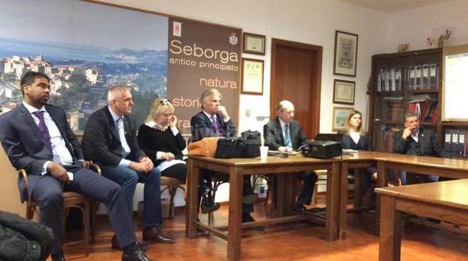 conferenza stampa seborga