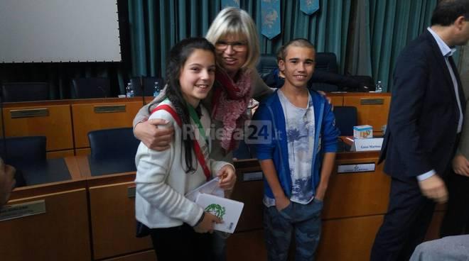 consiglio comunale ragazzi imperia 2015 X  Annalisa Tamietto baldi