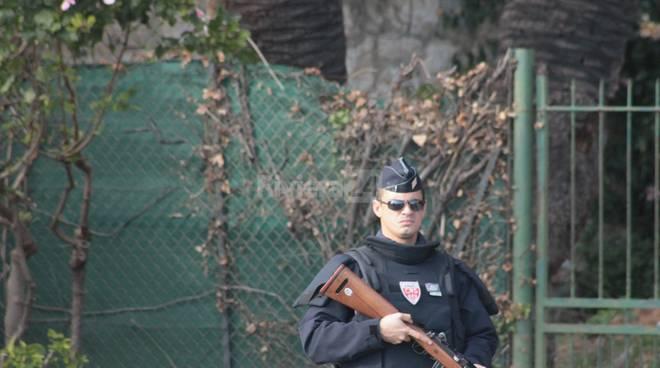 Frontiera italo-francese di Ventimiglia, i controlli della polizia