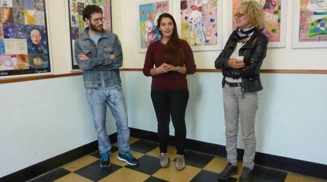 """inaugurazione della mostra personale di Vittoria Taggiasco """"L'Arte fuori dall'Accademia"""""""