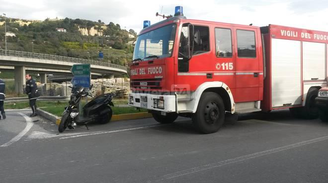 incidente stradale borga marmi