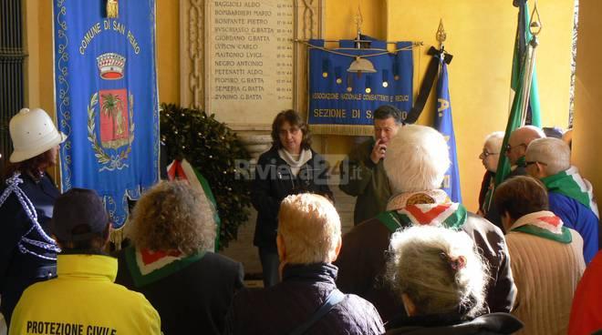 La Commemorazione dei Caduti a San Romolo novembre 2015