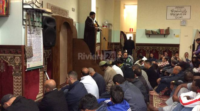 moschea di ventimiglia preghiera islam imam