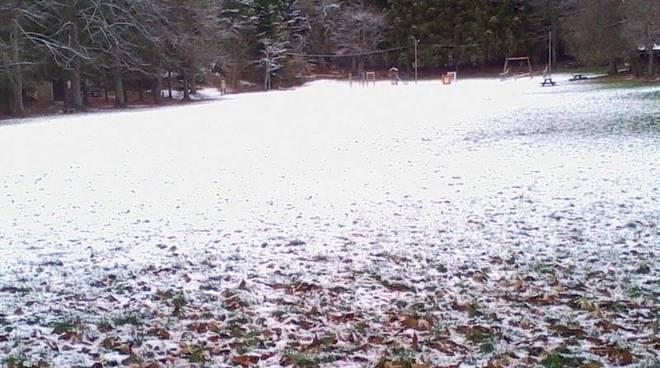 Prima neve su San Romolo