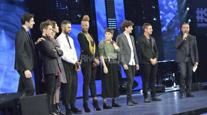 Sanremo Giovani in diretta sulla Rai da villa ormond