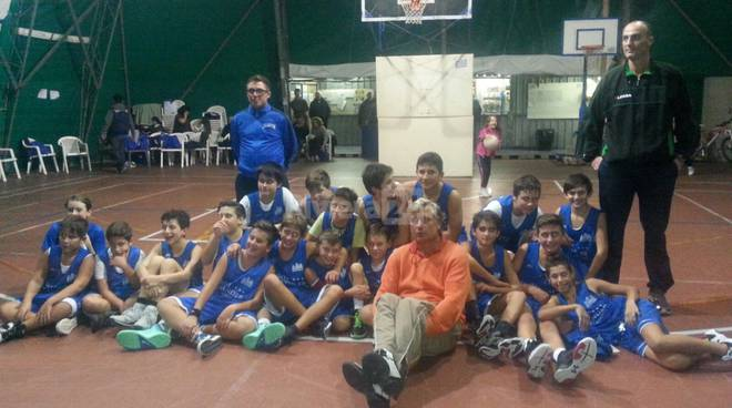 Sea Basket Sanremo under 13 2015-2016
