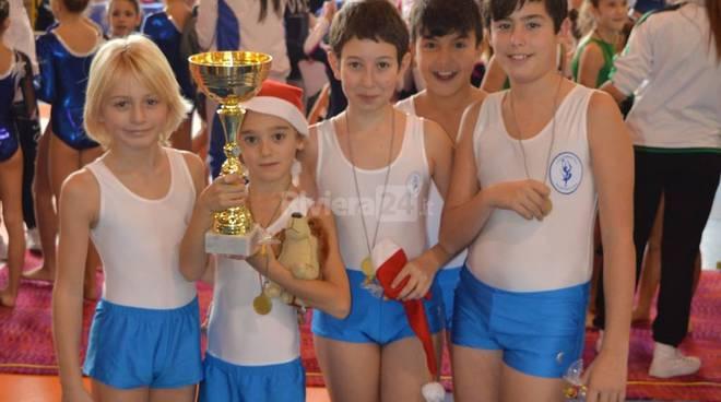 Asd Ginnastica Riviera dei Fiori  Regional Champions Gym novembre 2015