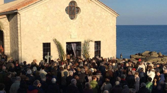 Bordighera, aperta la porta santa della chiesetta di Sant'Ampelio 27 dicembre 2015