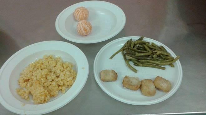 cibo mensa scolastica