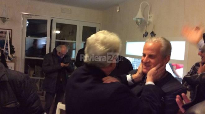 Claudio Scajola incontra a Ventimiglia