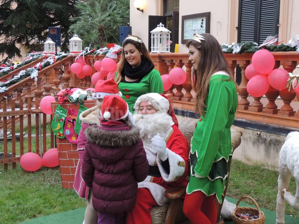 """""""Natale a Villa Boselli"""", magico pomeriggio di festa nel cuore di Arma di Taggia"""