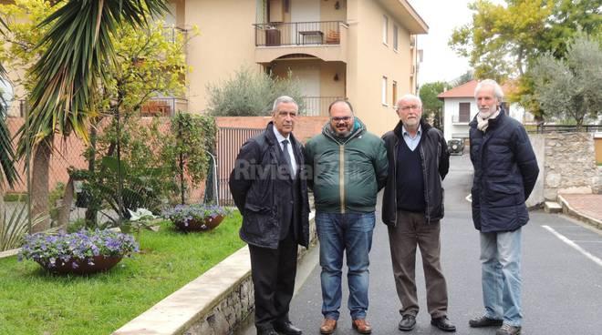 Riva Ligure, aiuole create da carcerati e studenti