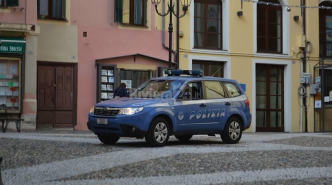 Sanremo Polizia il centro storico Pigna