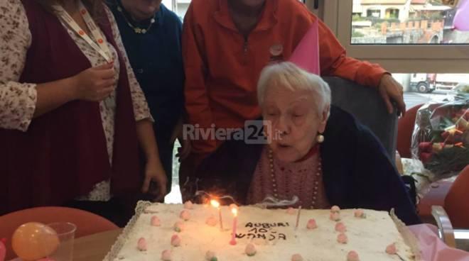 100 anni Wanda Vigoni