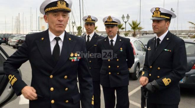Ammiraglio Pettorino incontra pescatori sanremo gennaio 2016