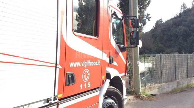 Camporosso, muore schiacciato dal trattore gennaio 2016 ciaxe