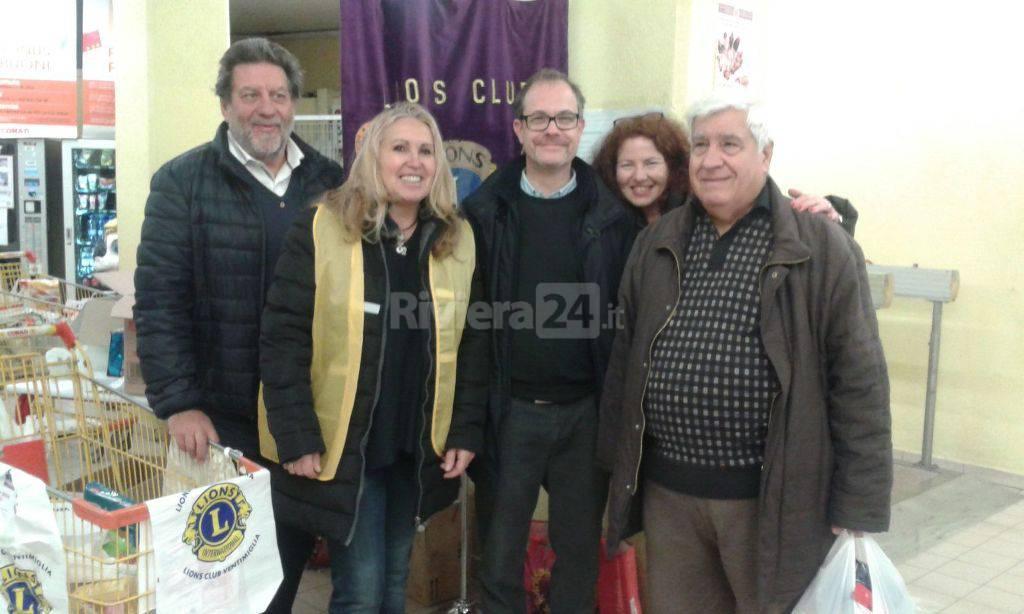 colletta alimentare lions club bordighera ottoluoghi