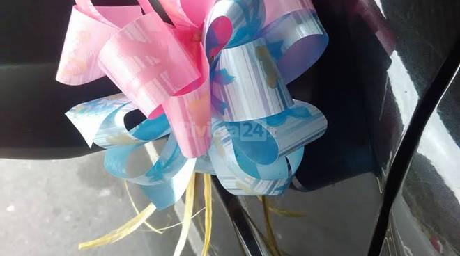 fiocchi rosa azzurro fiocco