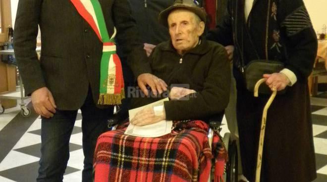 Giacomo Benza compie 100 anni