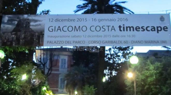 Giacomo Costa mostra a diano marina
