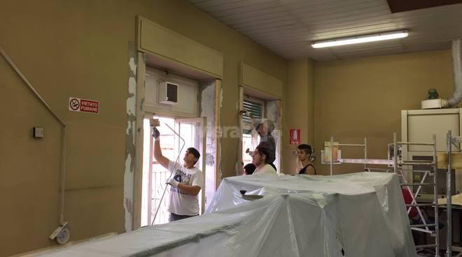 """Gli studenti della Scuola Edile ristrutturano l'Itis """"Galilei"""""""