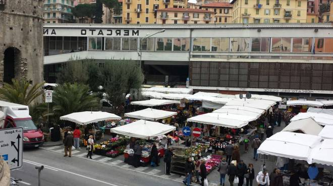 mercato settimanale sanremo piazza eroi
