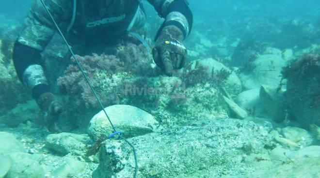 ordigno bellico riprese subacquee