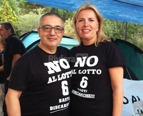 Paola Arrigoni e Giuseppe Riello M5S Sanremo