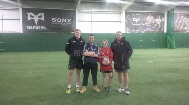 Salesiani Rugby Vallecrosia ai corsi tecnici in Galles