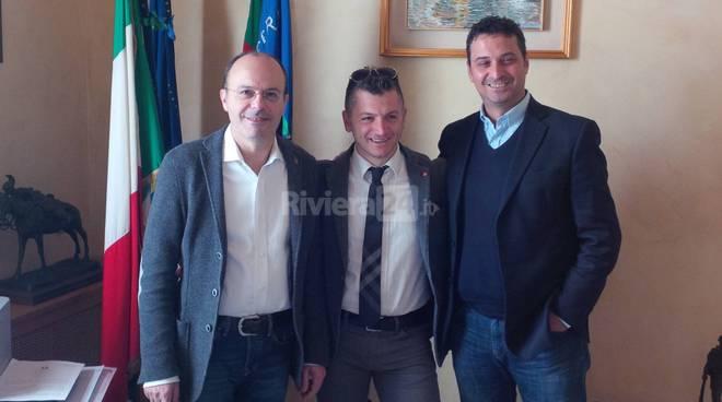 Capacci incontra il vice sindaco di San Giovanni di Piro