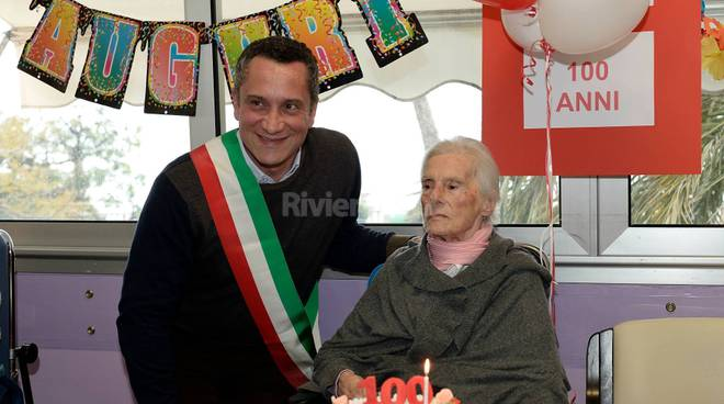 Diano San Pietro festeggia la Nonna centenaria Giovannina