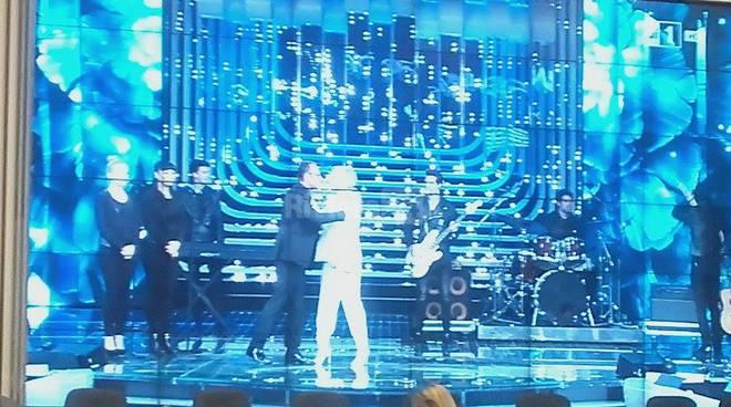 Ellie Goulding il suo abito per il Festival di Sanremo 2016