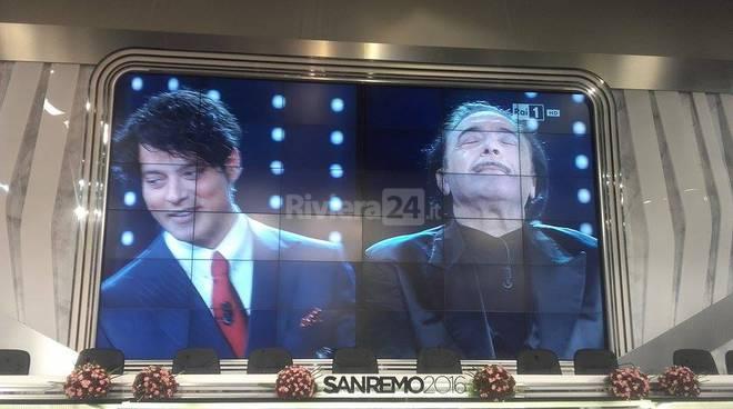 Garko-Frassica intervista doppia a Sanremo 2016