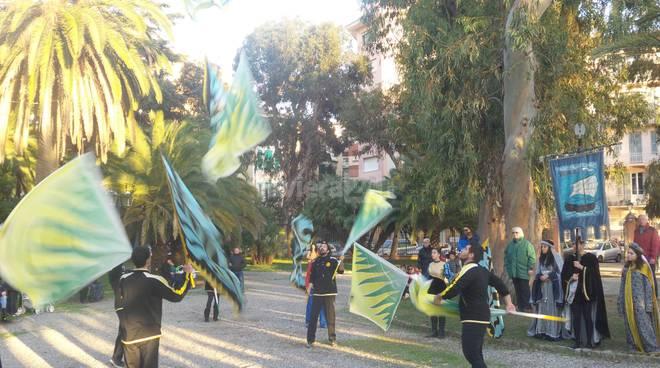 Grande Festa di Carnevale ai Giardini publici di Ventimiglia