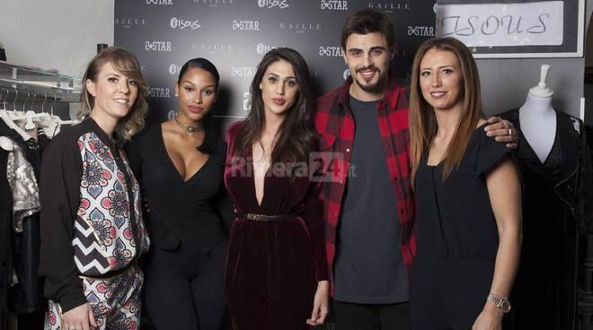 """Grande successo per l'evento griffato """"Bisous', quest'anno con Cecilia Rodriguez, Fanny Neguesha e Francesco Monte"""