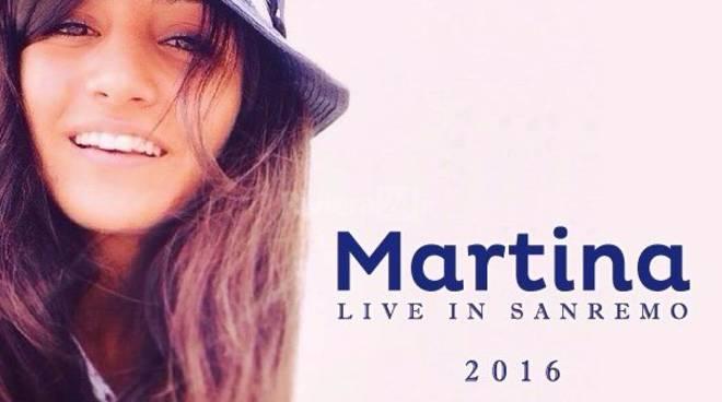 Martina, live in Sanremo 2016
