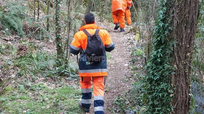 ricerche protezione civile