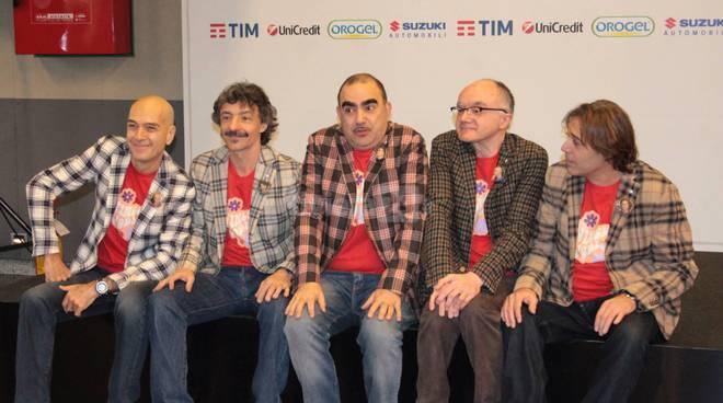 Moda a Sanremo, Elio e le storie tese vestono Etro