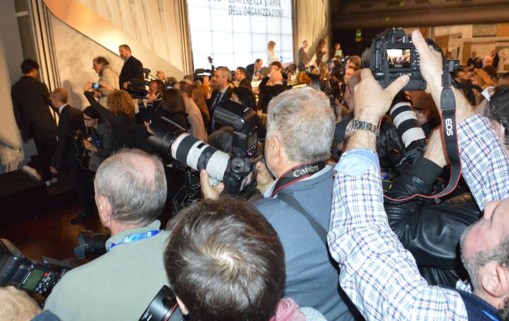 Sanremo, conferenza stampa di apertura del Festival 2016