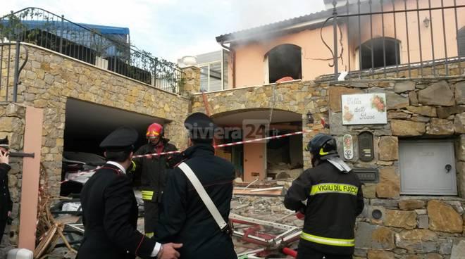 Esplode villa a Sanremo, Gabriel Garko è in ospedale