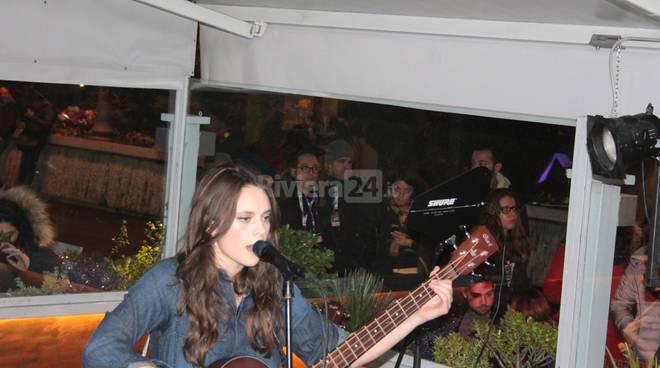 Sanremo, Francesca Michielin live al Big Ben