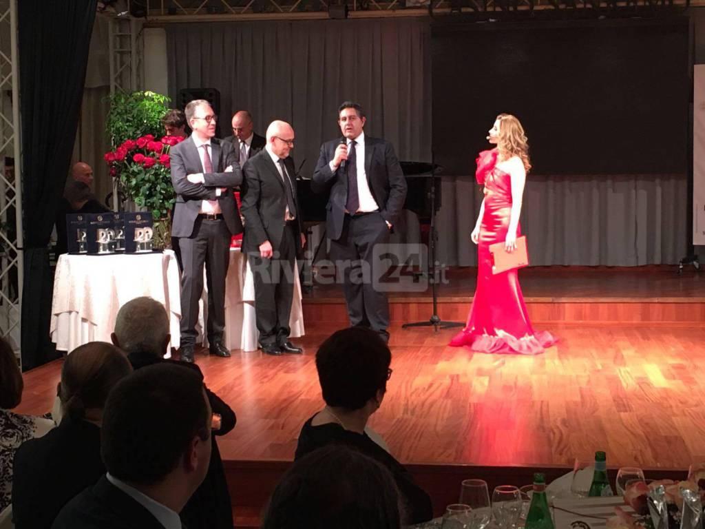 Sanremo2016, Cena di gala della Regione Liguria al casinò