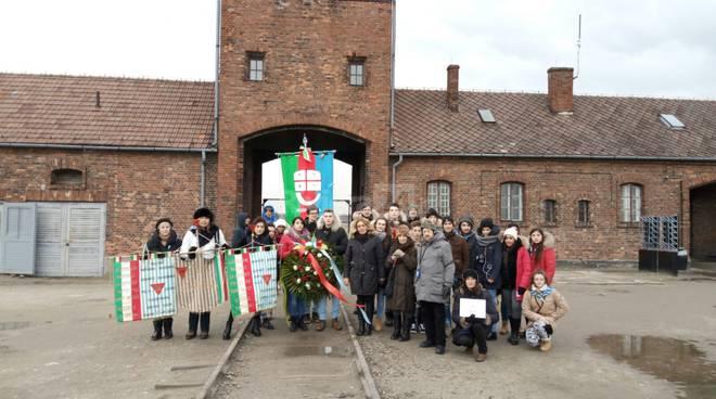 Studenti liguri nei lager di Auschwitz e Birkenau