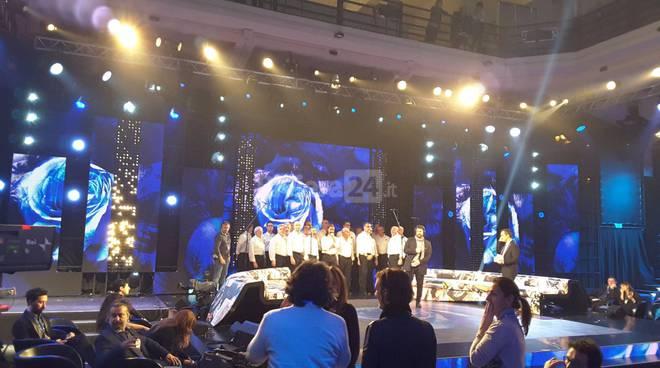 Successo per il coro Mongioje di Imperia al Dopofestival